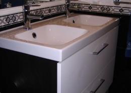 Colocação de móvel WC